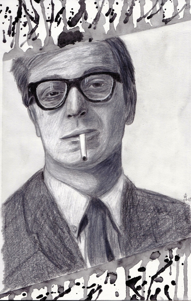 Michael Caine by monkfan1992